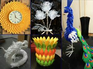 plastic spoon craft ideas recycled home decor youtube recycled home decor ideas 17 pictures to pin on pinterest
