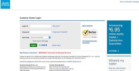 charles schwab client center schwab login client schwab com charles schwab client