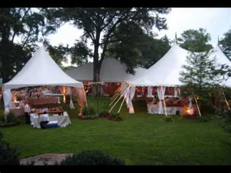 planning an outdoor wedding at home planning an outdoor wedding in a tent youtube