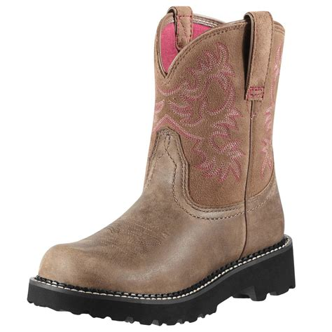 womens ariat fatbaby boots ariat s fatbaby western boots brown bomber 10000822