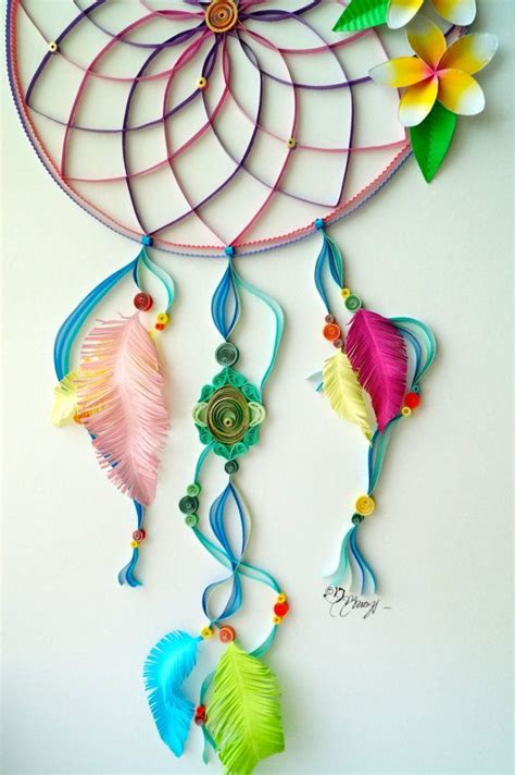 dream catcher quilling quilling art dream catcher by bestquillings on etsy