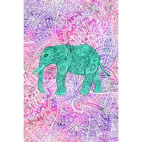 girly elephant wallpaper colorful tribal elephant wallpaper www pixshark com