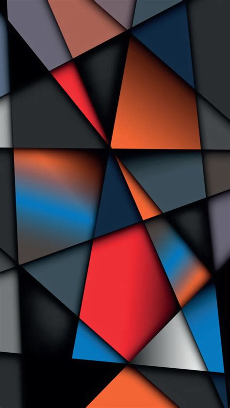 colorful geometric wallpaper geometric iphone wallpaper wallpapersafari