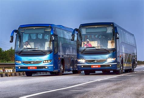 volvo in bangalore volvo buses unveils new 9400 coach range at busworld 2016