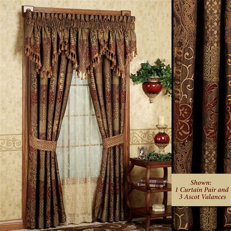 traditional style curtains galleria window treatment by croscill