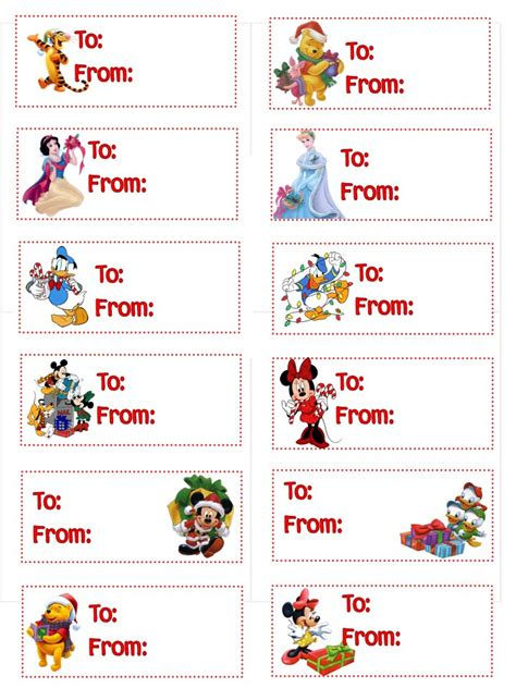 free childrens christmas printable gift tags search