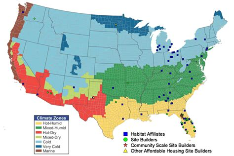 map of the united states weather united states map climate zones
