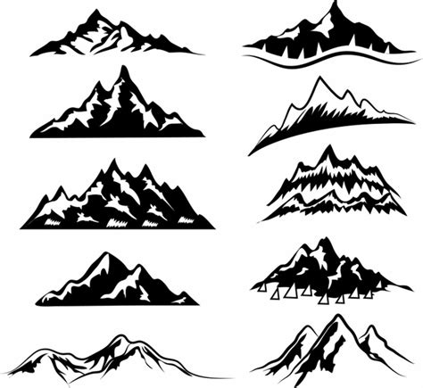 mountain  vector    vector