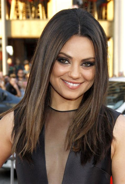 mila kunis haircut search hair hair hair