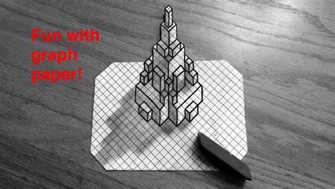 How To Draw A 3d Graph By