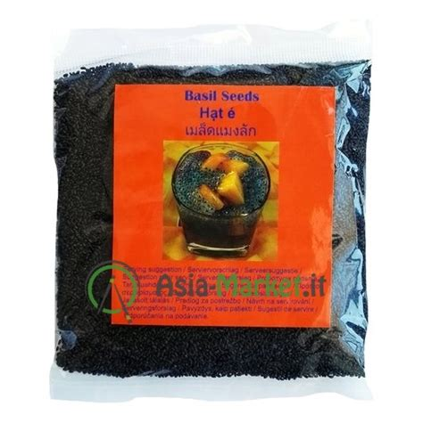 semi di basilico in cucina semi di basilico thai per bevande 100g 1 80 asia