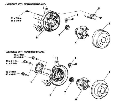 Diagram To Change Wheel Bearing On A 2009 Kia Mohave
