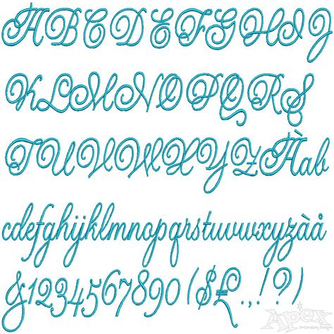 s day script valentines script embroidery fonts