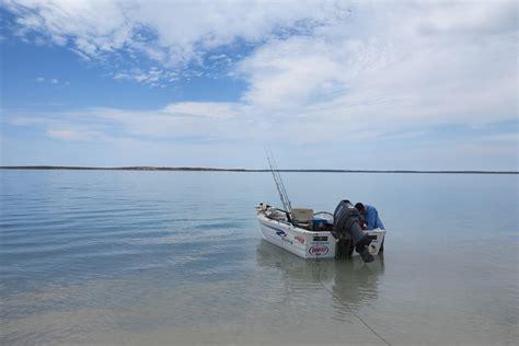 small boat fishing shark bay shark bay fishing steep point