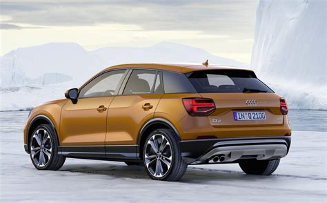 suv audi for sale audi q2 compact suv unveiled on sale in australia in 2017