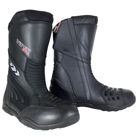 long motorcycle boots viper 856 long boot motorcycle motorbike waterproof