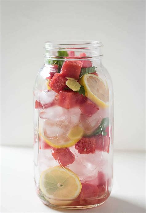 Watermelon And Lemon Detox Water by Summer Cooling Watermelon Detox Water What U Eat