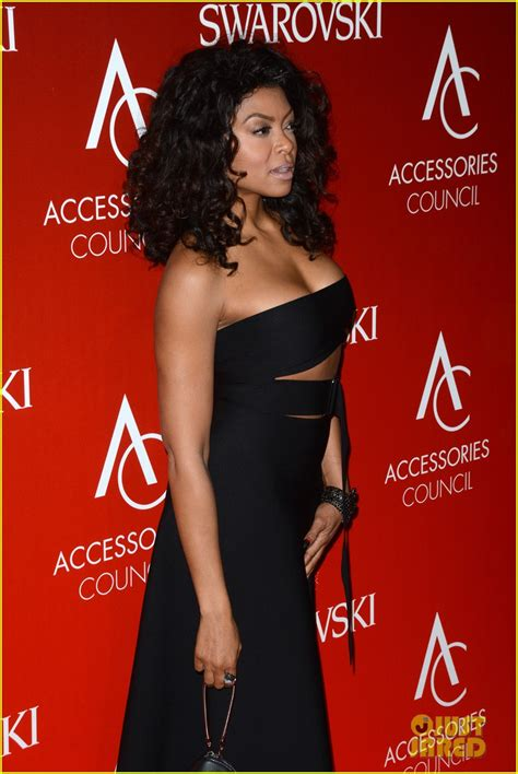 taraji p henson black dress cut out taraji p henson black dress cut out