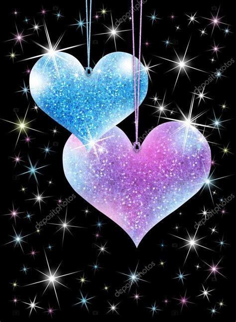 imagenes de corazones brillantes y estrellas con movimiento corazones brillantes fotos de stock 169 venism 38416771