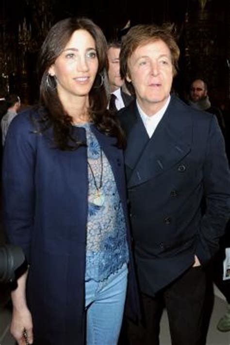 Married American Nancy Shevell Dating Mccartney Does Not Wear A Ring And Is Legally Separated From Husband by Paul Mccartney Proposed With 650 000 Ring Planning