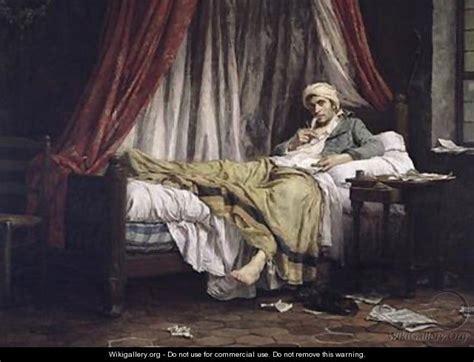french revolution painting bathtub jean paul marat 1743 93 1879 etienne lucien melingue