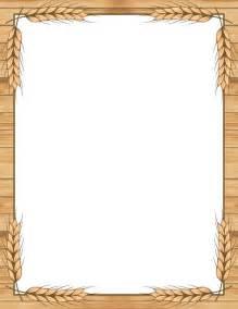 printable wheat border free gif jpg pdf and png