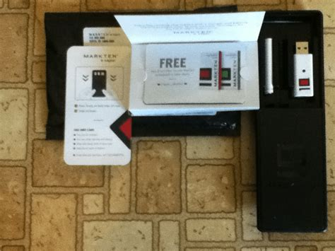 free markten e vapor starter kit with a coupon for a free refill