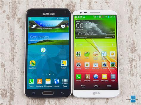samsung vs lg samsung galaxy s5 vs lg g2