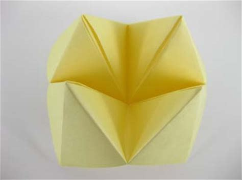 origami question origami fortune teller step 11 creativity