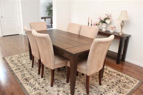 farm table dining room dining room farmhouse table how to nest for less