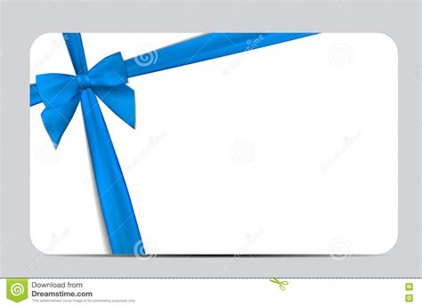 Ribbons Gift Card - blue gift ribbon vector www pixshark com images galleries with a bite