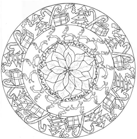 google printable christmas adult ornaments mandala coloring pages search the of coloring mandala