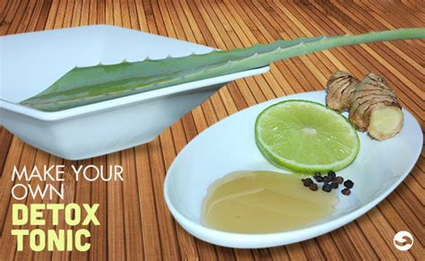 Is It Better To Make Your Own Detox Tea by Make Your Own Detox Tonic Casa De Co Living