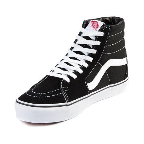 shoes journeys vans sk8 hi skate shoe black white journeys shoes