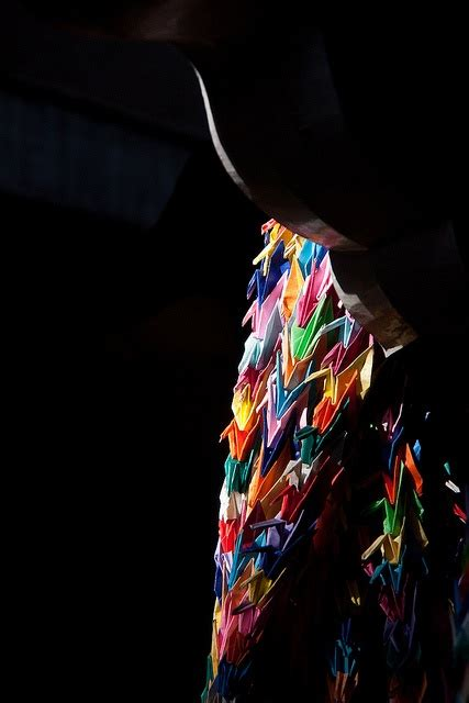 1000 Origami Cranes Legend - top 25 ideas about origami cranes senbazuru on