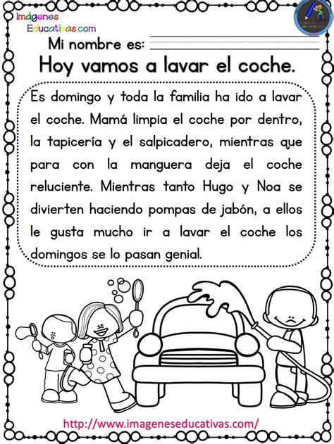 lectura y redaccin ejercicios y teora sobre lengua espaola lecturas comprensivas para primaria noa y hugo 9