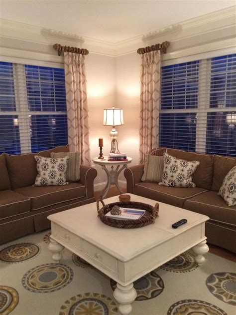 stationary panels and valance transitional family room other metro by maria j window 1000 ideas about side panels on pinterest spa uniform panelling and custom window treatments