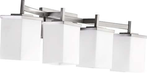 delta bathroom lighting quorum lighting 5084 4 65 delta modern contemporary