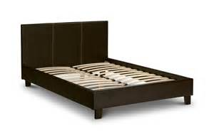 Small Bed Frames Julian Bowen Cosmo Small Leather Bed Frame