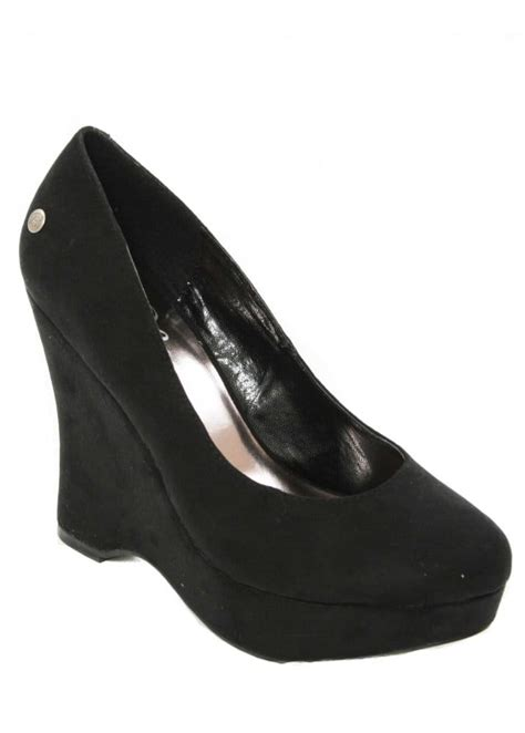 Weadges Blink blink black wedge platform shoes s blink shoes