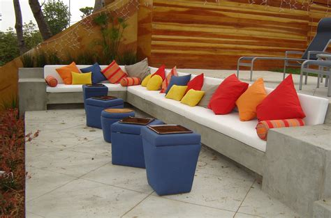 Wall Decor Ideas For Small Living Room diy cement decor with color patio contemporary and asian