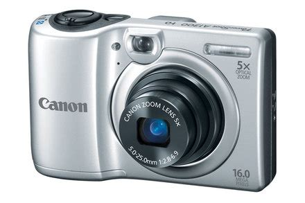 canon powershot a1300 silver refurbished   canon online store