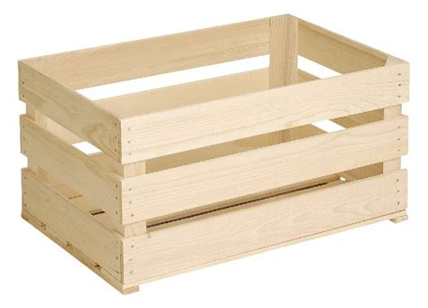 cassetta di legno do it garden cassetta per frutta di legno grezzo migros
