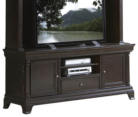 houzz tv stands homelegance inglewood 67 inch tv stand in cherry