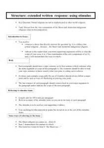 Ib Extended Essay Language B Guide by Structure Of An Extended Essay