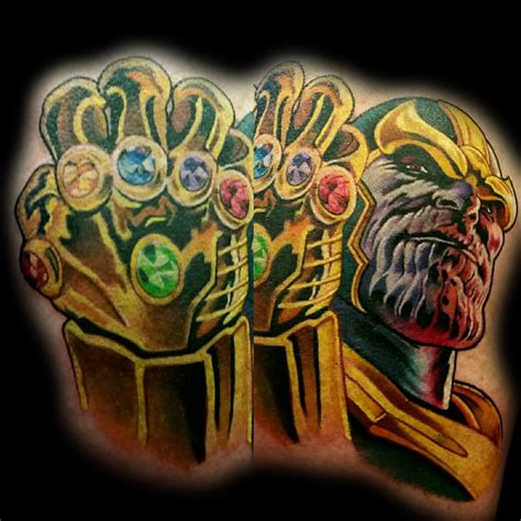 thanos tattoo tattoo collections