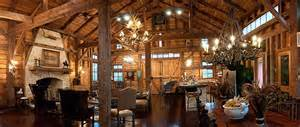 barn house interior refinished barn reclaimed barn wood pinterest