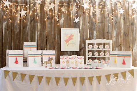Unicorn Birthday Party Ideas ? Jen T. by Design