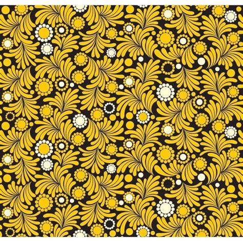 yellow pattern vector seamless yellow flower pattern design vector free vector