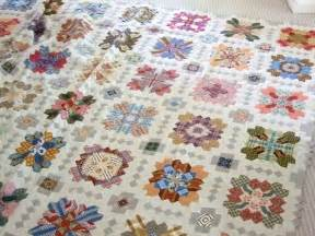 every stitch patchwork of the crosses